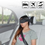 TFY Car Headrest-Mountable Travel Sleeping Mask