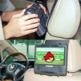 Universal Car Headrest Mount Holder for Portable DVD Players