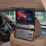 TFY Car Mount with velcro fors Swivel Screen PORTABLE DVD PLAYER
