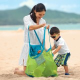 TFY Large & Portable Family Size Beach Mesh Bag Tote Organizer - For Toys, Balls and Beach Items