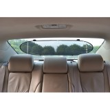 TFY Universal Pop-Open Design Car Sunshade Sun Protection Folding Shade for Rear Windshield