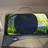 TFY Universal PVC Film Static Electric Sunshade for Car side window and Rear Windshield - 2 pieces