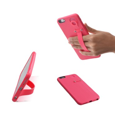 TFY Hand Strap Holder Stand with Soft Case Cover for iPhone 6 (S) Plus