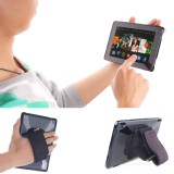 TFY Padded Hand-Strap plus Tablet PC Cover Case for Fire HD 8 - 10 (2015 Edition) - Black