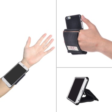 TFY Hand Strap Holder with Case Cover Stand for iPhone 6 Plus