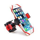 "TFY Bicycle Phone Mount Holder with 360°Rotation for 4 - 5.8"" iPhone Samsung"