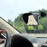 TFY Car Windscreen Mount Holder and Sun Shade & Glare Visor for 4.5 to 5.2 Inch Screen Smartphones