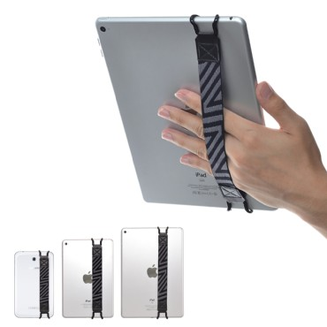 TFY Security Hand-Strap for Tablet PC - iPad 2 & iPad 3 - Samsung Tablet Pcs - Nexus and More