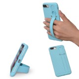 TFY Case Cover with Hand Strap Holder Stand for iPhone 7 (Blue)