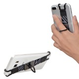TFY Security Hand Strap with 360° Rotation Metal Ring Finger-Grip Holder Stand for iPhone and More