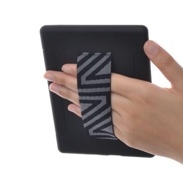 TFY Hand Strap Holder with Case Cover for 6 inch Kindle E-reader,Black