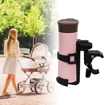 WANPOOL Drink Bottle or Feeding Bottle Cage Holder for use with a Stroller, Bicycle or Wheelchair