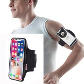 TFY Open-face Sport Armband Holder + Detachable Case for iphone X