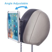 TFY Car Headrest Mount Holder with Angle Adjuster for 7 - 10.5 Inch Tablets